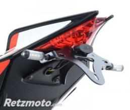 R&G Support de plaque noir R&G RACING Aprilia V4 Tuono
