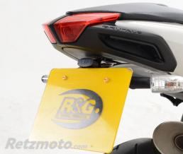R&G Support de plaque R&G RACING noir MV Agusta Brutale 1090