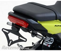 R&G Support de plaque R&G RACING noir compatible micro clignotants Honda MSX125