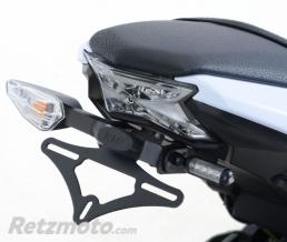 R&G Support de plaque R&G RACING noir Kawasaki Z650