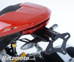 R&G Support de plaque R&G RACING noir Ducati