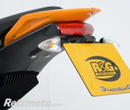 R&G Support de plaque R&G RACING noir