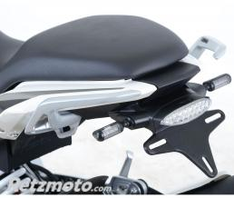 R&G Support de plaque R&G RACING noir BMW G310R
