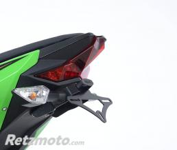 R&G Support de plaque R&G RACING noir Kawasaki Ninja 400