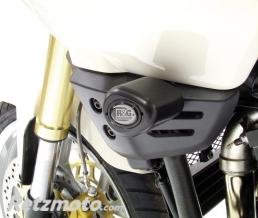R&G Tampons de protection R&G RACING Aero noir Triumph Tiger 1050