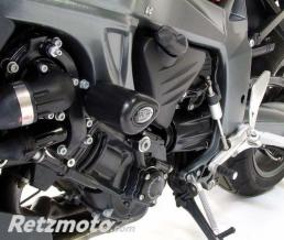 R&G Tampons de protection R&G RACING Aero noir BMW K1200R/1300R