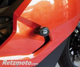 R&G Tampons de protection R&G RACING Aero noir BMW K1300 S
