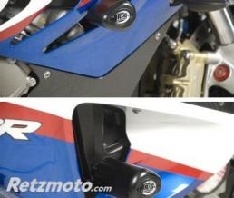 R&G Tampons de protection courts R&G RACING Aero noir BMW S1000RR