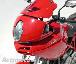ERMAX BULLE AEROMAX 27 CM ERMAX POUR 620/1000/1100 DS MULTISTRADA 2004/2009 marron transparent CLAIR