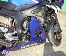 R&G Protection de fourche R&G RACING noir Yamaha YZF-R6