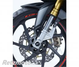 R&G Protection de fourche R&G RACING noir Honda CBR250RR