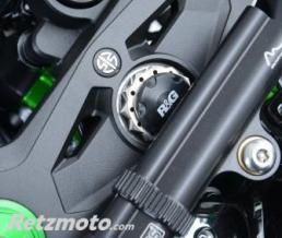 R&G Insert ecrou de direction R&G RACING noir