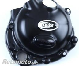 R&G Couvre carter R&G RACING Race Series droit (embrayage) noir Kawasaki ZX6R