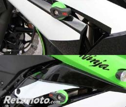 LSL Kit fixation Crash Pad LSL pour KAWASAKI ZX250R Ninja '08-09