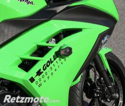 LSL Kit fixation Crash Pad LSL Kawasaki Ninja 300 R