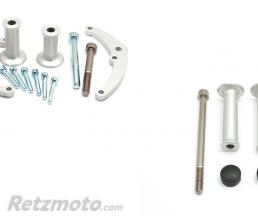 LSL Kit fixation Crash-Pad LSL alu Kawasaki Z650