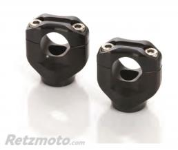 LSL Pontets noir Black bar mounts LSL Ø 25.4 mm