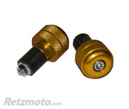 ALLOY ULTIMA EMBOUT DE GUIDON STREET BIKE ACIER OR 18MM