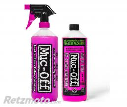 MUC-OFF Twin Pack MUC-OFF Bike Cleaner 1L + Concentré de recharge 1L