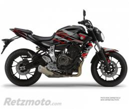 KUTVEK KIT DÉCO MOTO NIGHT YAMAHA MT 07 NOIR ROUGE