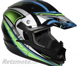 ADX CASQUE CROSS ADULTE ADX MX2 THUNDERBOLT NOIR-VERT FLUO XL