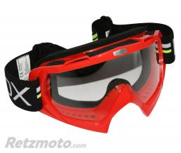ADX LUNETTE-MASQUE CROSS ADX MX ROUGE ECRAN TRANSPARENT ANTI-RAYURES