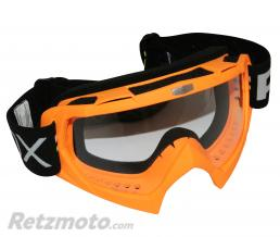 ADX LUNETTE-MASQUE CROSS ADX MX ORANGE FLUO ECRAN TRANSPARENT ANTI-RAYURES