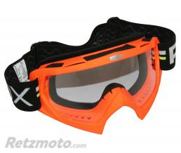 ADX LUNETTE-MASQUE CROSS ADX MX ROUGE FLUO ECRAN TRANSPARENT ANTI-RAYURES