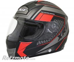 ADX CASQUE INTEGRAL ADX XR1 BATTLEGROUND NOIR-ROUGE MAT XXL