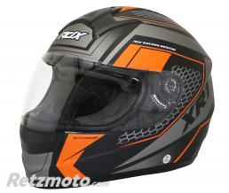 ADX CASQUE INTEGRAL ADX XR1 BATTLEGROUND NOIR-ORANGE FLUO MAT  XS