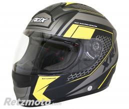ADX CASQUE INTEGRAL ADX XR1 BATTLEGROUND NOIR-JAUNE FLUO MAT  S