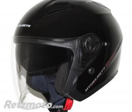 MT HELMETS CASQUE JET MT BOULEVARD SV DOUBLE ECRANS NOIR BRILLANT XL
