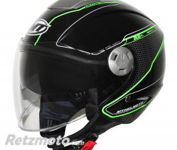 MT HELMETS CASQUE JET MT CITY ELEVEN SV DYNAMIC DOUBLE ECRANS NOIR BRILLANT  XS