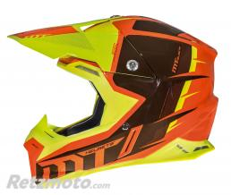 MT HELMETS CASQUE CROSS ADULTE MT SYNCHRONY SPEC ORANGE-JAUNE FLUO  XS
