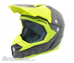 MT HELMETS CASQUE CROSS ADULTE MT SYNCHRONY SPEC TITANE-JAUNE FLUO L