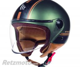 MT HELMETS CASQUE JET MT STREET ENTIRE MARRON MAT  S