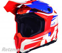 MT HELMETS CASQUE CROSS ADULTE MT FALCON WESTON ORANGE BRILLANT M (BOUCLE DOUBLE D)