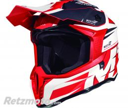 MT HELMETS CASQUE CROSS ADULTE MT FALCON WESTON ROUGE BRILLANT M (BOUCLE DOUBLE D)