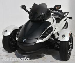 ERMAX BULLE ERMAX SPORT POUR SPYDER RS/RSS 990 2008/2012 marron transparent CLAIR