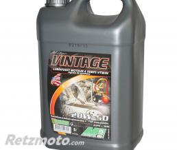 MINERVA HUILE MOTEUR 4 TEMPS MINERVA MOTO VINTAGE 20W50 MULTIGRADE (5L) (MOTO CLASSIC) (100% MADE IN FRANCE)