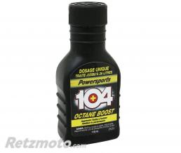 MINERVA ADDITIF CARBURANT MINERVA OCTANE BOOST 104 POUR MOTEURS 2T ET 4T 118ml (MADE IN USA) (1 DOSE égal 20 L D'ESSENCE)