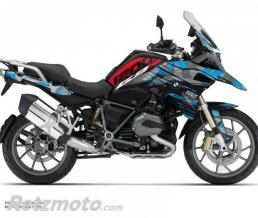 KUTVEK KIT DÉCO MOTO AKTE BMW R 1200 GS EXCLUSIVE BLEU ROUGE