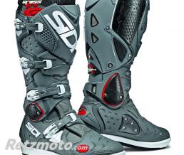 BOTTES MOTO SIDI CROSSFIRE 2 SRS GRIS/GRIS TAILLE 46