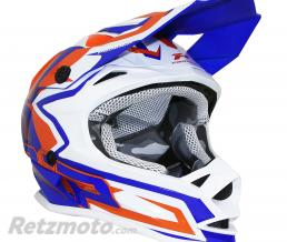 PROGRIP CASQUE CROSS ENFANT PROGRIP 3009 BLEU-ORANGE  YM