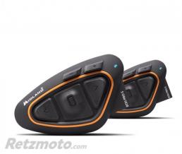 MIDLAND Intercom MIDLAND BTX1 Pro S Twin noir/orange