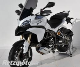 ERMAX BULLE HAUTE PROTECTION + 10 CM ERMAX POUR MULTISTRADA 1200 S & PIKES PEAK 2010/2012 marron transparent