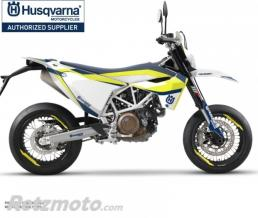 KIT DÉCO MOTO LEGEND HUSQVARNA 701 SUPERMOTO BLEU