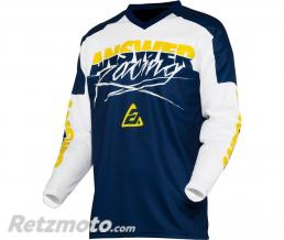 ANSWER Maillot ANSWER Syncron Pro Glow Yellow/Midnight/White taille XL