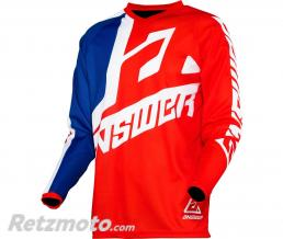 ANSWER Maillot ANSWER Syncron Voyd Junior Red/Reflex/White taille YM