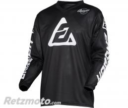 ANSWER Maillot ANSWER Arkon Bold Black/White taille XL